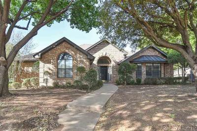 Wichita Falls TX Single Family Home Active W/Option Contract: $205,000