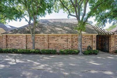 Wichita Falls Single Family Home Active W/Option Contract: 1627 Midwestern Parkway
