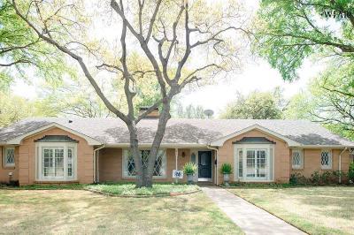 Wichita Falls Single Family Home For Sale: 2413 Merrimac Drive