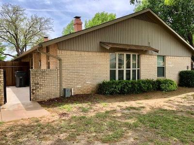 Wichita Falls Single Family Home For Sale: 4509 Spanish Trace