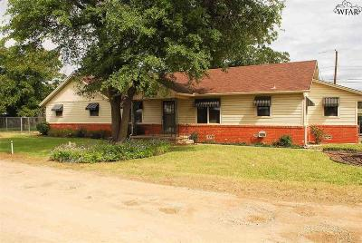 Wichita Falls Single Family Home For Sale: 4409 Ulen Lane