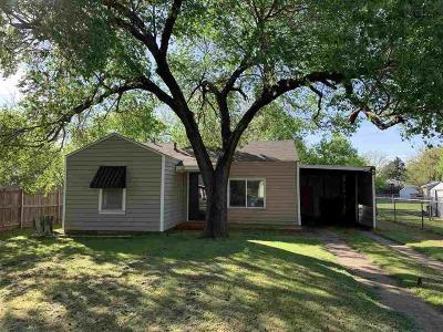 Wichita Falls TX Single Family Home For Sale: $63,900