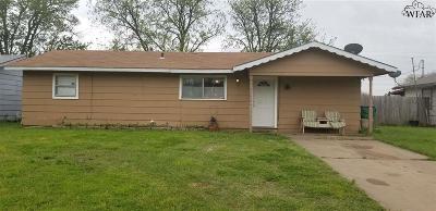 Single Family Home For Sale: 202 E Garden Street