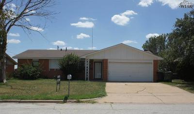 Wichita County Rental For Rent: 1233 Glendora Drive