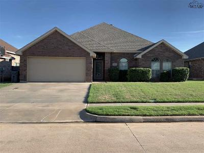 Wichita County Rental For Rent: 5623 Ross Creek Lane