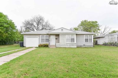 Wichita Falls Single Family Home For Sale: 4116 Blanton Street