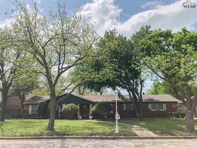 Wichita Falls Single Family Home For Sale: 6707 General Custer Drive