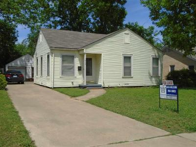 Wichita Falls Single Family Home For Sale: 1640 Speedway Avenue