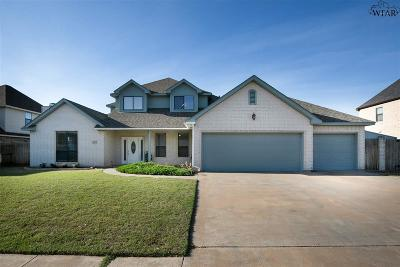 Wichita Falls Single Family Home For Sale: 4117 Shady Grove Lane