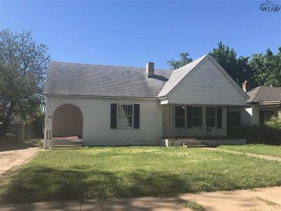 Wichita County Multi Family Home For Sale: 1717 McGregor Avenue