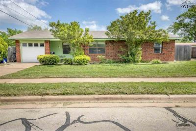 Wichita Falls Single Family Home For Sale: 4805 Trinidad Drive