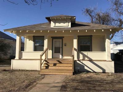 Wichita County Rental For Rent: 2308 9th Street