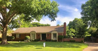 Wichita Falls Single Family Home For Sale: 2402 Clayton Lane