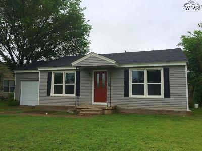 Wichita County Rental For Rent: 4337 McCutchen Avenue