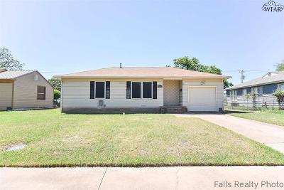 Wichita Falls TX Single Family Home For Sale: $79,000