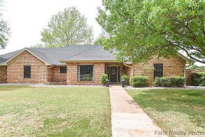 Wichita Falls Single Family Home For Sale: 1610 Brazos Street