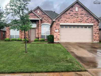 Wichita Falls Single Family Home For Sale: 4 Prairie Lace Court