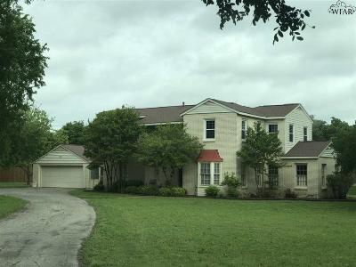 Jack County Single Family Home For Sale: 816 Live Oak Street
