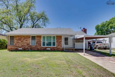 Wichita County Single Family Home For Sale: 3416 Sherwood Lane