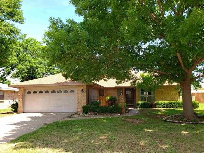 Wichita Falls Single Family Home Active-Contingency: 4906 Del Rio Trail