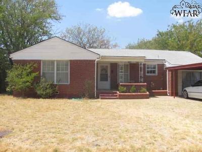 Wichita County Rental For Rent: 4336 Boren Avenue