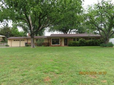 Wichita County Single Family Home For Sale: 4104 Rivercrest Drive