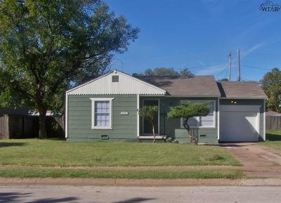 Wichita County Rental For Rent: 4416 Cunningham Drive