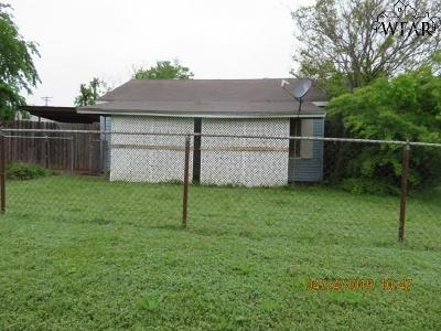 Wichita County Single Family Home For Sale: 2812 Sherman Road