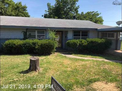 Single Family Home For Sale: 507 E Ikard Street