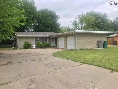 Wichita County Single Family Home For Sale: 4406 McCrory Avenue