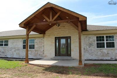 Wichita Falls Single Family Home Active W/Option Contract: 368 Shawnee Trail