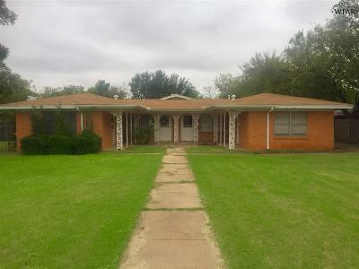 Wichita County Rental For Rent: 1907 Wenonah Avenue