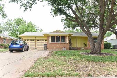 Wichita Falls Single Family Home For Sale: 4516 Westward Drive