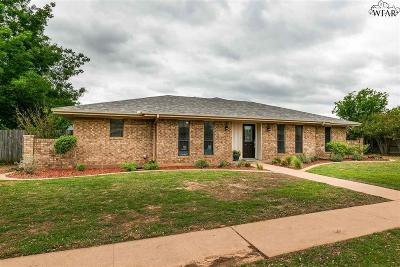 Wichita Falls Single Family Home Active-Contingency: 5405 Vickers Drive