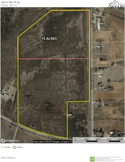 Wichita County Residential Lots & Land For Sale: 2855 Haws Road