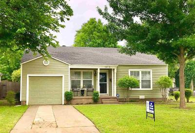 Wichita Falls Single Family Home Active W/Option Contract: 3419 Barrett Place