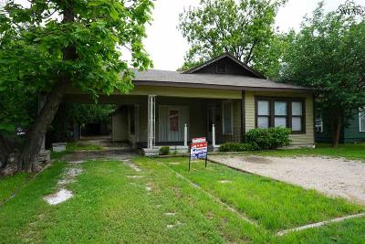 Wichita County Rental For Rent: 1617 Collins Avenue