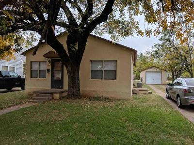 Wichita County Rental For Rent: 3216 York Street