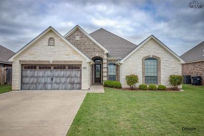 Wichita Falls Single Family Home Active W/Option Contract: 5606 Ross Creek Lane