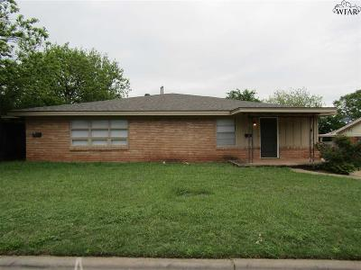 Wichita Falls Multi Family Home Active W/Option Contract: 3214 10th Street