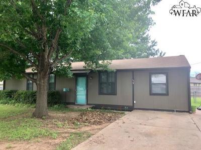 Wichita Falls Single Family Home For Sale: 2927 Stearns Avenue