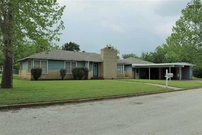 Clay County Single Family Home Active W/Option Contract: 503 W Houston Street