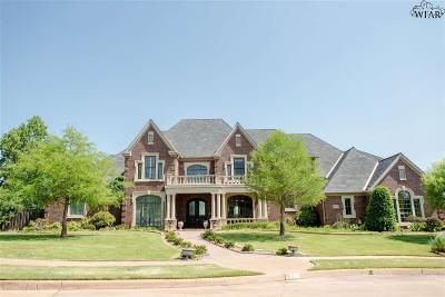 Wichita Falls Single Family Home For Sale: 8 Desert Willow Court