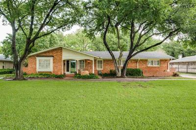 Wichita Falls Single Family Home For Sale: 2302 Kirk Drive
