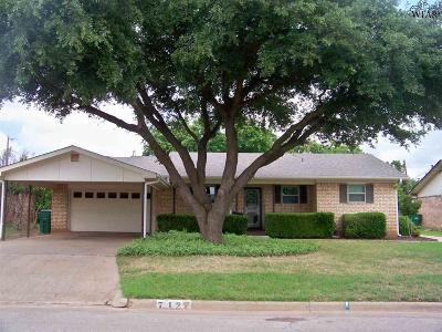 Iowa Park Single Family Home Active W/Option Contract: 712 W Clara Avenue
