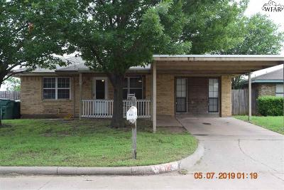 Iowa Park Single Family Home For Sale: 312 E Garden Drive