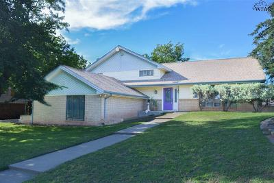 Wichita Falls Single Family Home For Sale: 4510 Shady Lane