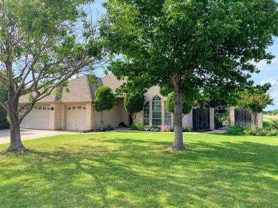 Wichita Falls Single Family Home Active W/Option Contract: 5400 Starwood Avenue