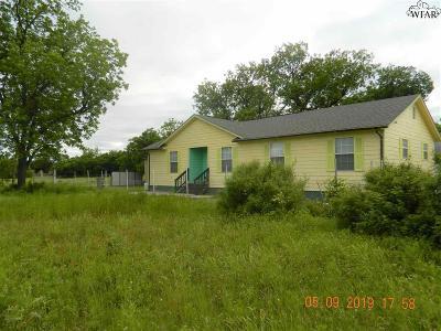 Wichita Falls Single Family Home For Sale: 705 Barwise Street