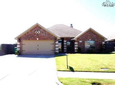 Wichita Falls Single Family Home For Sale: 4829 Eagles Landing